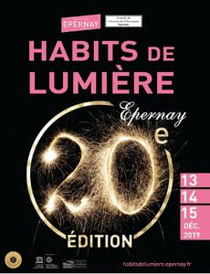 "The ""Habits de Lumière"" from December 13th to 15th, 2019 Champagne Pol Roger"