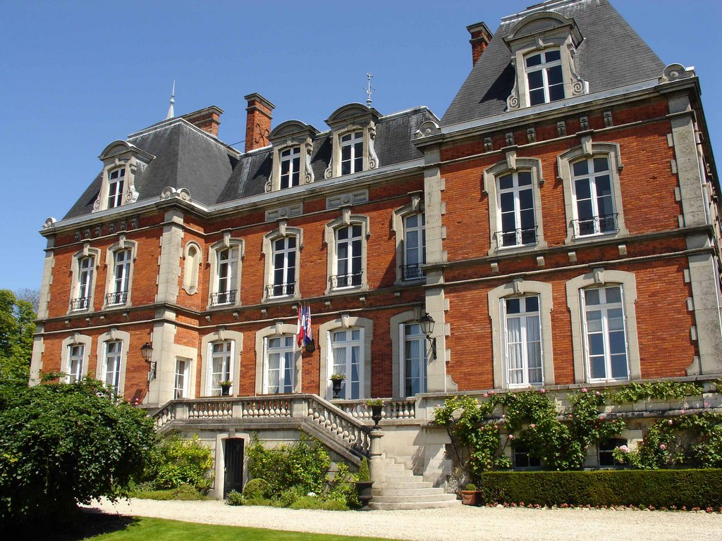 The Pol Roger House in Epernay