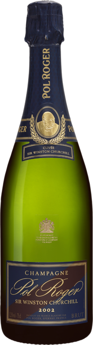 Cuvée Sir Winston Churchill  Champagne Pol Roger 2002