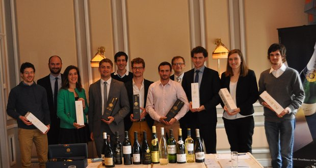 Blind tasting match bewteen the most prestigious French schools and universities - 13 March 2015 Champagne Pol Roger